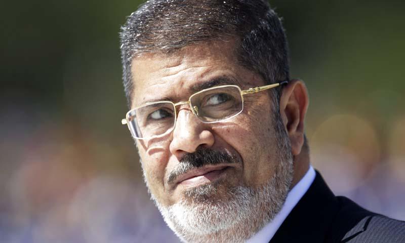 Egypt's former President Mohamed Morsi. — Photo Reuters