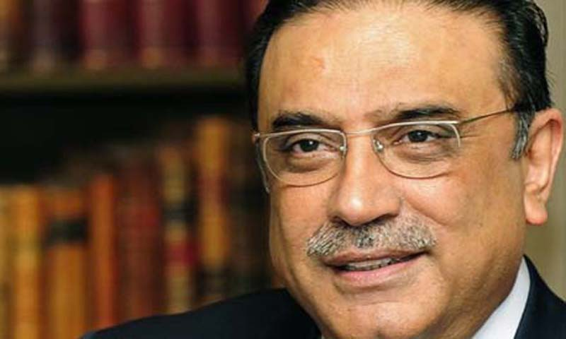 The presidential spokesperson added that President Asif Ali Zardari (above) would remain in the country even after the end of his term as president.      — File Photo