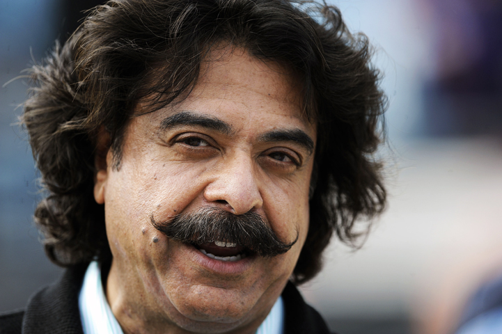 Shahid Khan, Pakistani billionaire and also the owner of the NFL's Jacksonville Jaguars now owns English Premier League football club, Fulham on July 12, 2013. - Photo by AP