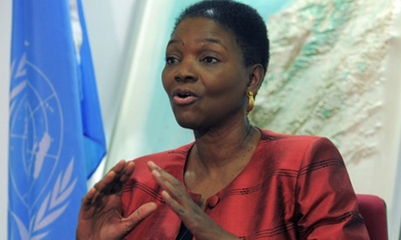 the Under-Secretary-General for Humanitarian Affairs, Valerie Amos. — File Photo by AP