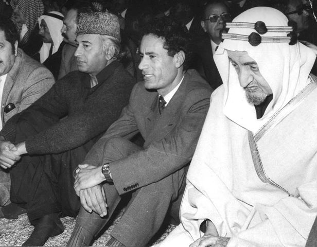 During the Cold War the main conflict in the Muslim world was mainly between the rightest expressions of Political Islam and the ideology's leftist versions.