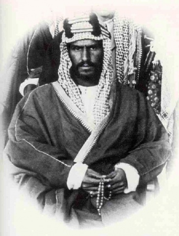 Founder of Saudi Arabia, King Abdulaziz Ibn Saud. A fringe figure in world politics the 1920s, he shot to prominence when vast reserves of oil were found in his country. He then laid the foundation of constructing the first known 'Islamic state' that was to be ruled by his family.
