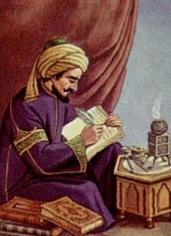 Famous 9th Century Muslim scholar and Mu'tazilite, Al-Kindi.