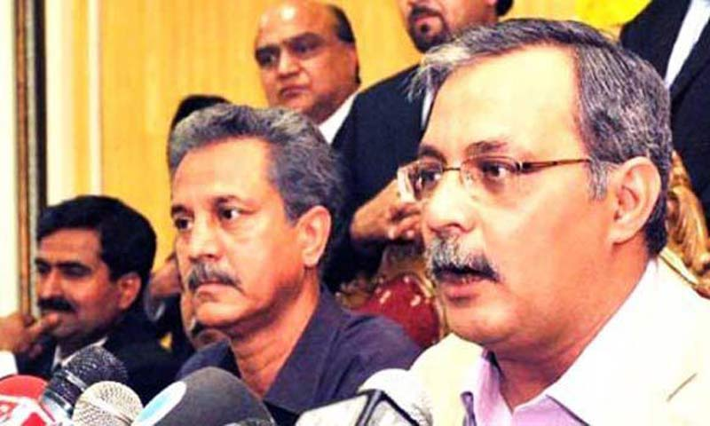 MQM leader Haider Abbas Rizvi. -File Photo