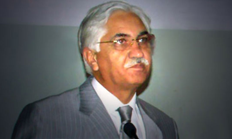 Acting President and Senate Chairman Syed Nayyar Hussain Bokhari.—File Photo
