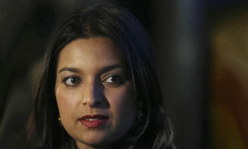 "Jhumpa Lahiri has been nominated for the Man Booker Prize for her novel, ""The Lowland"".—Photo by AP"