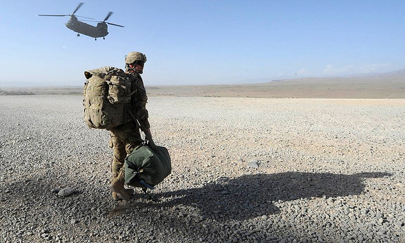 The US-led foreign troop withdrawal will create a sense of euphoria among the Taliban in Afghanistan and the TTP-led militants in Pakistan. -File photo by AFP