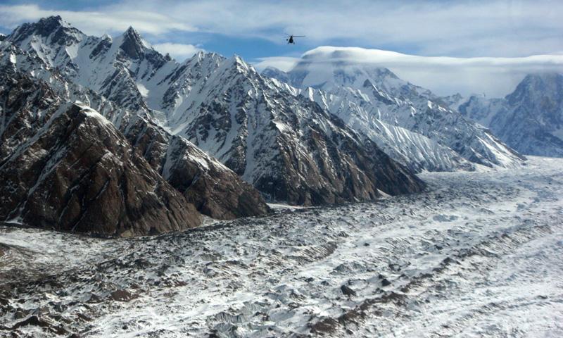 The Baltoro Glacier in the Central Karakoram National Park