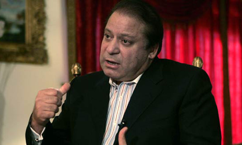 Pakistan's Prime Minister Mian Muhammad Nawaz Sharif.     — File Photo