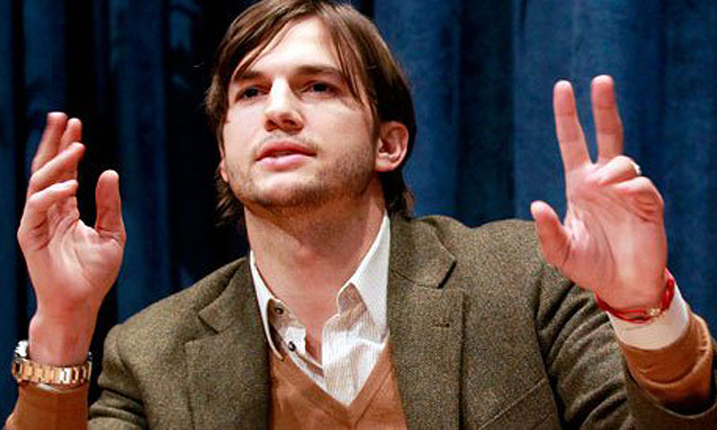 Ashton Kutcher. -File photo