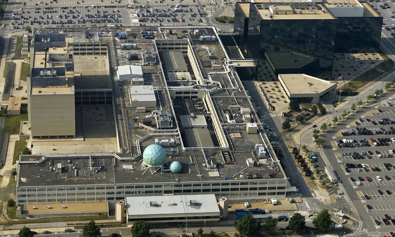 The National Security Agency (NSA) is shown in this May 31, 2006, aerial file photo in Fort Meade, Maryland. — AFP (File Photo)