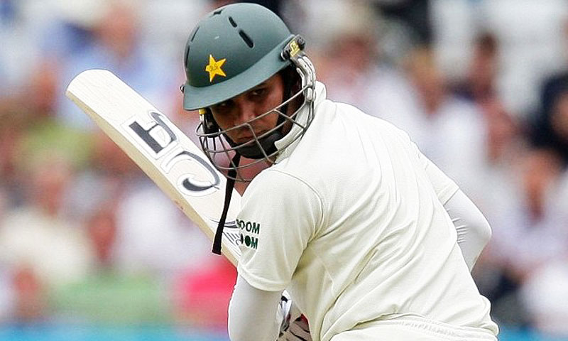 Farhat has so far played 40 Tests for Pakistan. -File photo by AFP