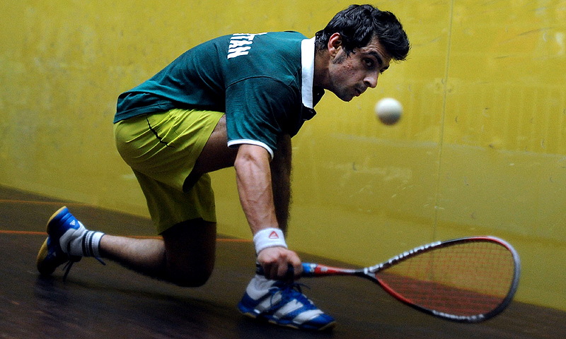 Since their departure, however, Pakistan has failed to produce any top-level squash players. -File photo