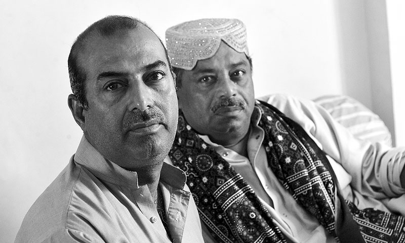 Farid Ayaz and Abu Muhammad.