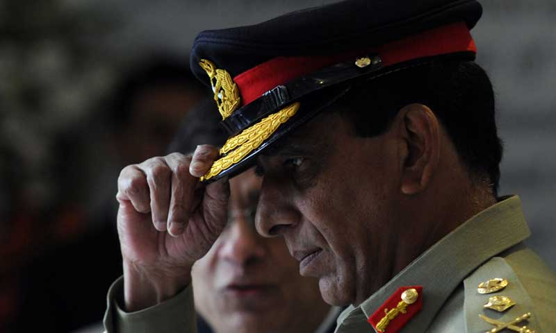 Army chief General Ashfaq Kayani. — Photo by AFP