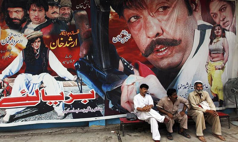 The owners have displayed the certificates at the entrances of the cinemas, saying they had not been violating the law as in the absence of any censor board in Khyber Pakhtunkhwa, they were left with no option but to get certificates from Sindh. -File photo by Reuters
