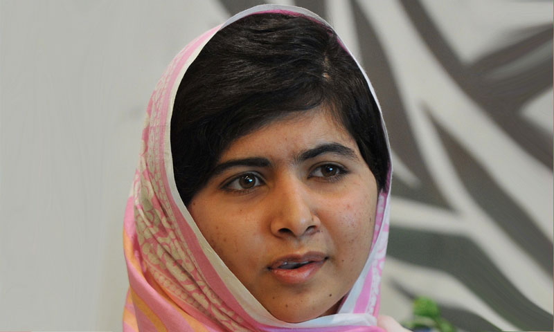 Malala Yousufzai. — File photo