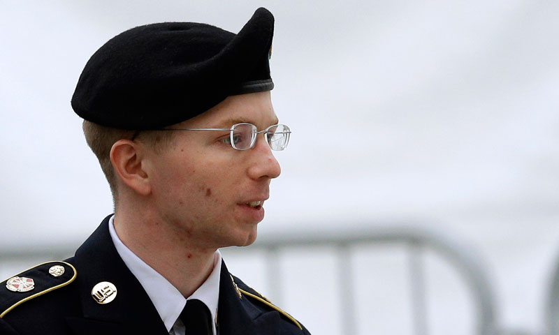 US soldier Bradley Manning. — File photo