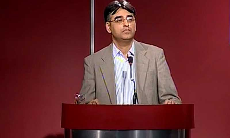 PTI leader Asad Umar. — File photo
