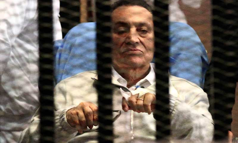 Hosni Mubarak. — File Photo