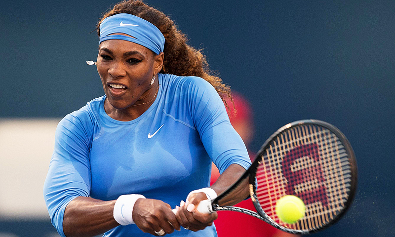 World number one Serena Williams enters the US Open as a heavy favourite. -File photo by AFP