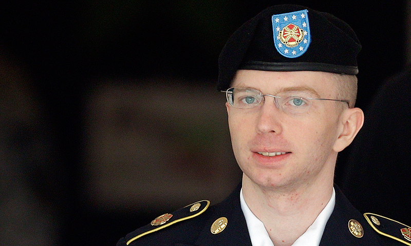 Bradley Manning. -Photo by AP