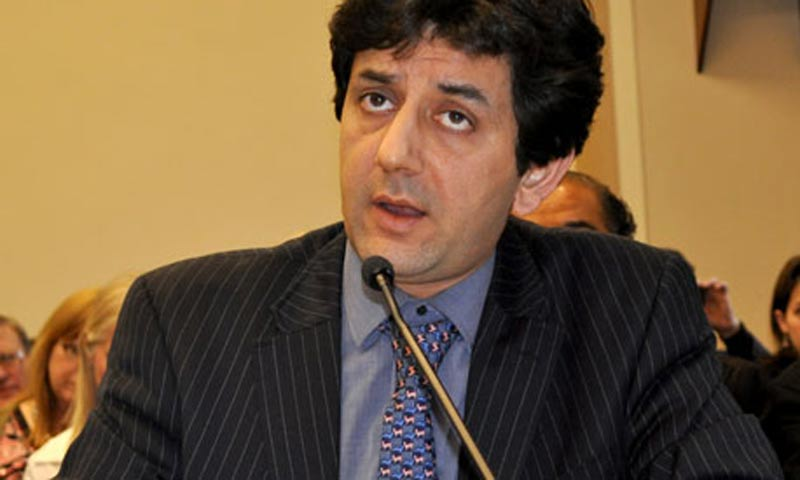 The Pakistan Director of Human Rights Watch (HRW) Ali Dayan Hasan. -File Photo