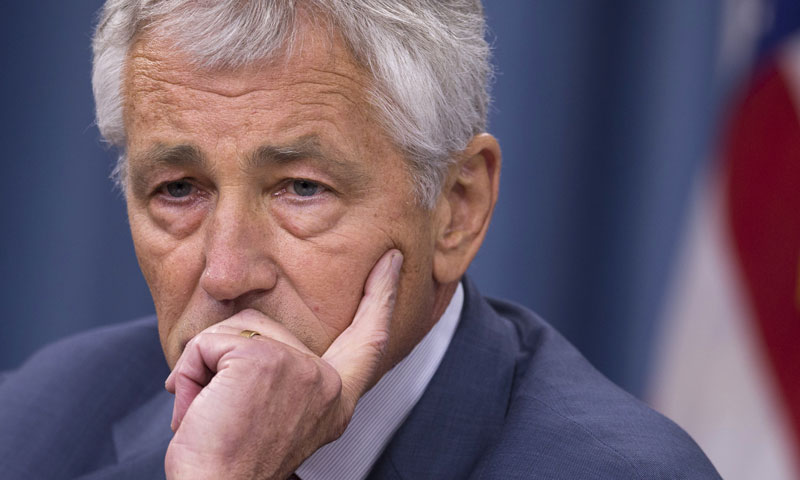 US Defence Secretary Chuck Hagel. — File Photo by AP