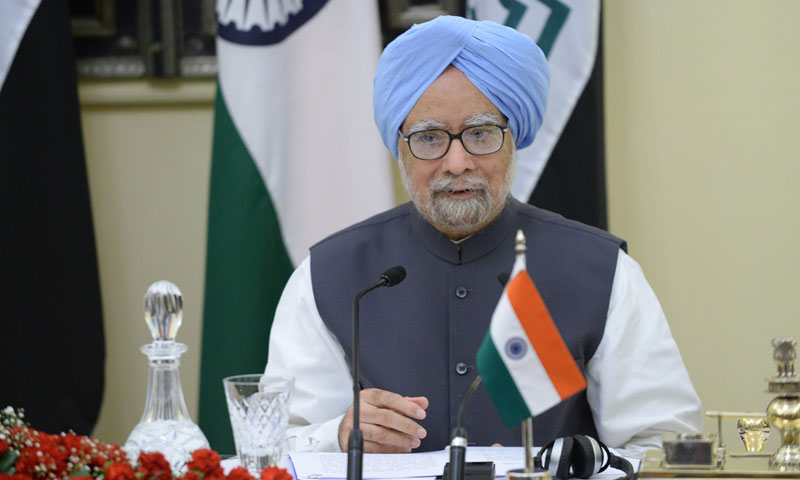 Manmohan Singh's shaky government, which hopes to win a third consecutive term in elections next May, has been weakened by a string of corruption scandals involving cabinet ministers and top officials.—AFP Photo