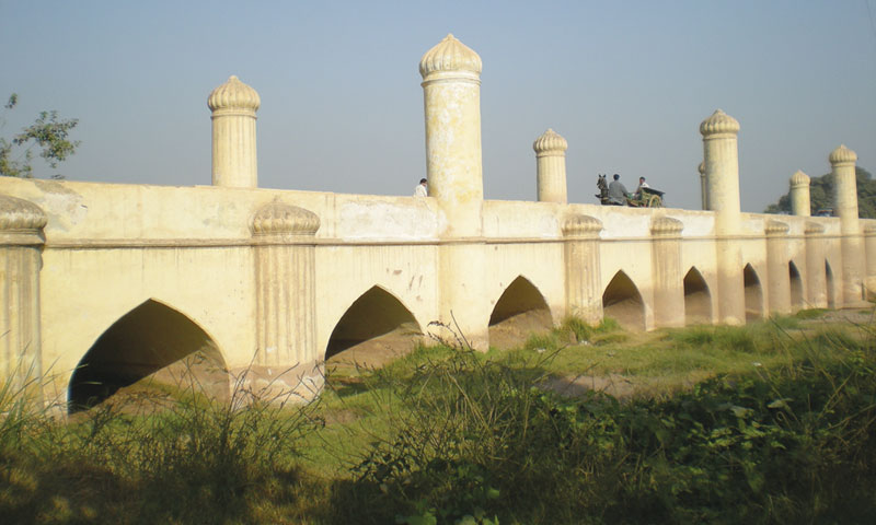 The Mughal Bridge