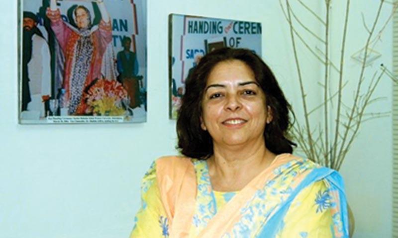 Dr Shahida Jaffrey.