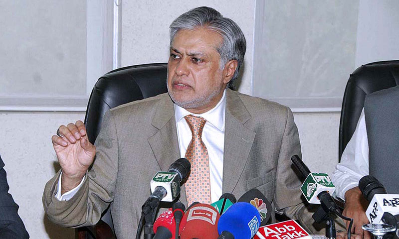 Finance Minister Ishaq Dar. — File photo