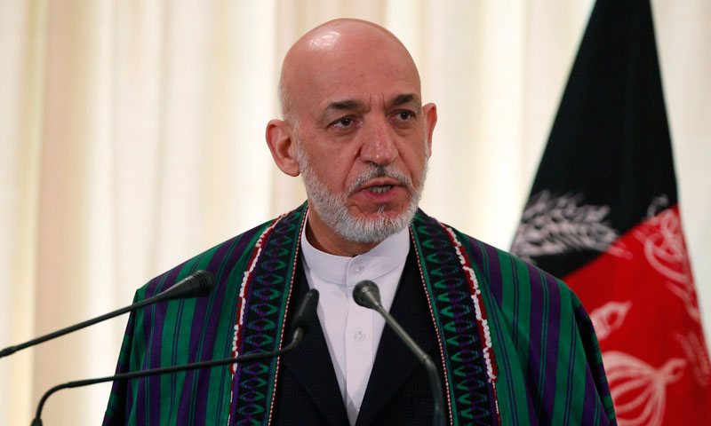 Afghan President Hamid Karzai, who has been visiting Pakistan for two days, condemned the killings.—Reuters Photo