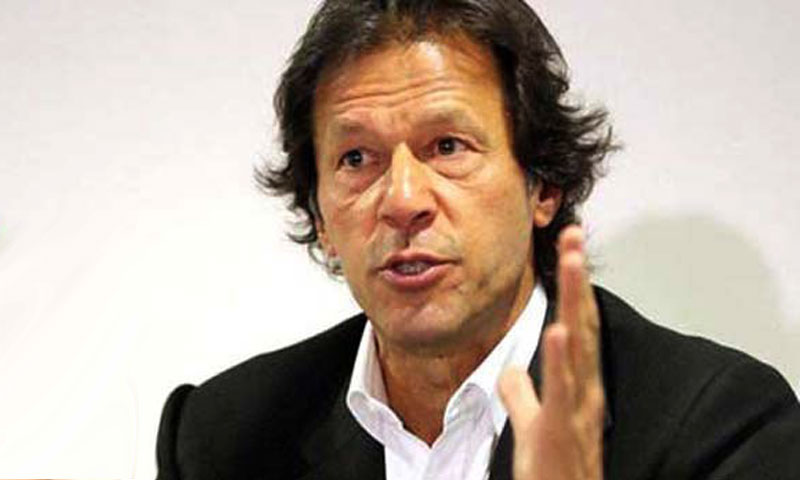 Pakistan Tehrik-i-Insaaf chief Imran Khan. —File photo