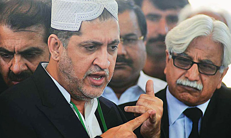 Chief of the Balochistan National Party - Mengal (BNP-M) Sardar Akhtar Mengal.   — File Photo by Online