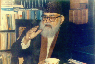 Islamic scholar and Political Islamist, Abul Aala Maududi.