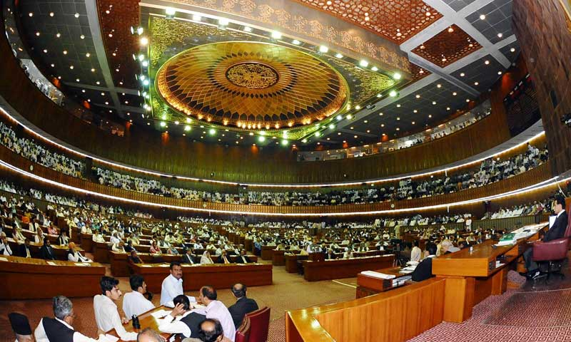 State Minister for Parliamentary Affairs Sheikh Aftab Ahmed informed the National Assembly that there had been a decline in human rights cases registered in all provinces except Khyber Pakhtunkhwa. — File photo