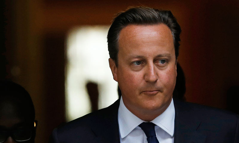 Britain's Prime Minister David Cameron. — Photo by Reuters