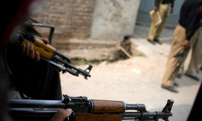 Qaumi Watan Party leader Razaullah was gunned down by unknown miscreants in Lakki Marwat district of KPK on Saturday. – Photo by AP/File