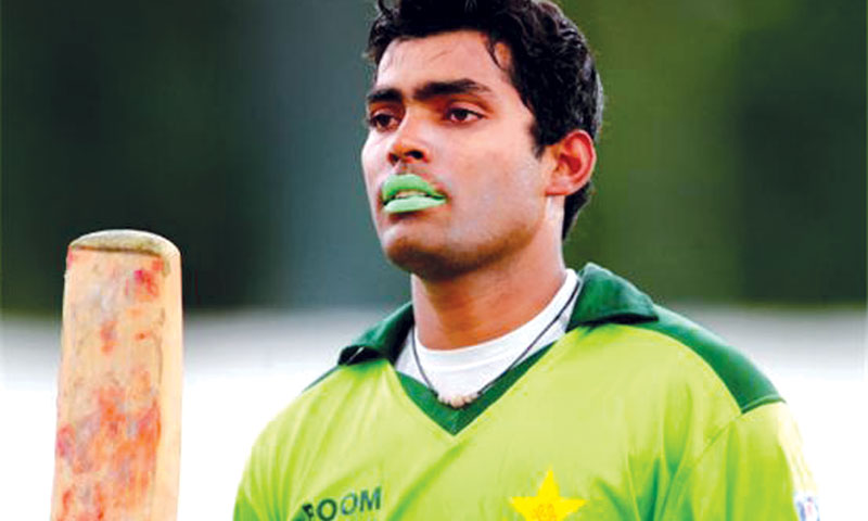 Umar Akmal: Modern-day Pakistan cricketer.