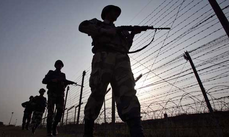 "Official sources and local people told Dawn that shelling took place in Lanjot, Balakot and Dheri Dabsi villages, but it remained largely from ""post to post.""However, no casualties were reported.  — File Photo"