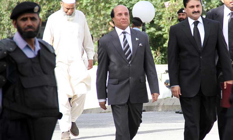 Sardar Muhammad Latif Khan Khosa. — File Photo by INP