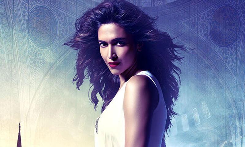 Deepika Padukone is pictured in a poster from the movie 'Race 2'. - Courtesy Photo