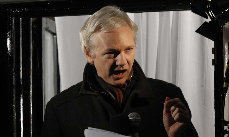Founder of WikiLeaks Julian Assange. — File photo