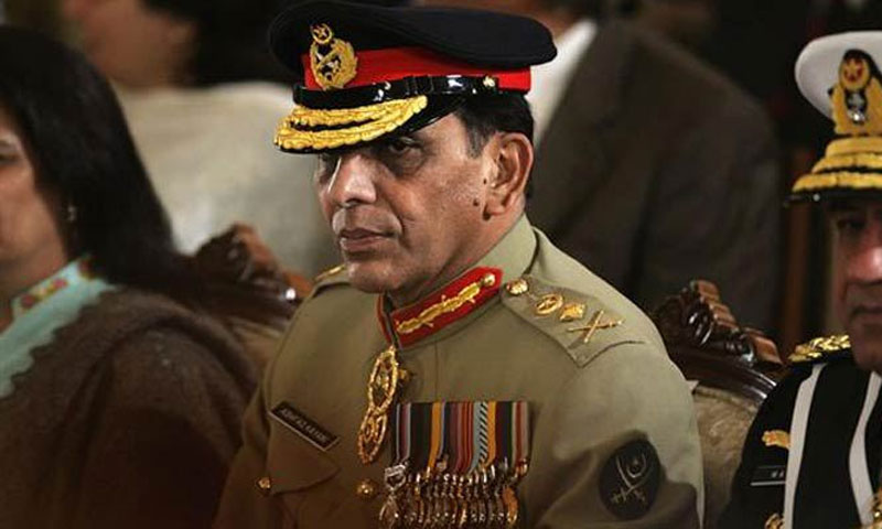 """There is not a single Army personnel involved in any operation in Balochistan,"" said the Army chief.—File Photo"