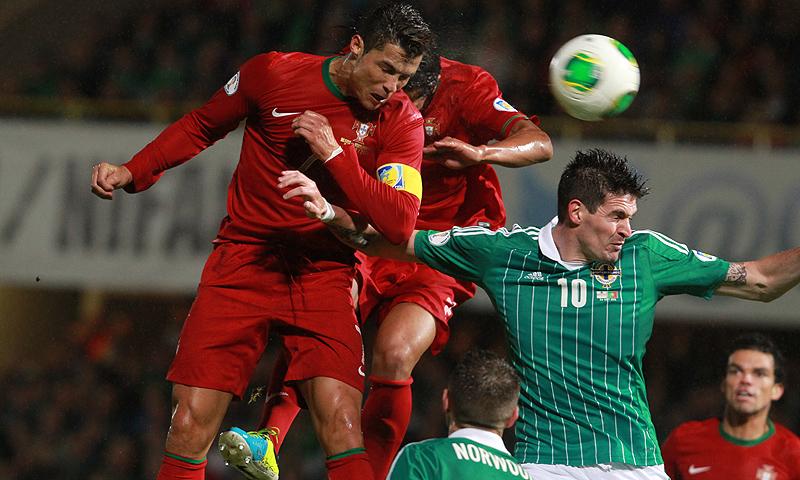 522aee72c1b65 - Klose equals German record, Ronaldo grabs speedy hat-trick