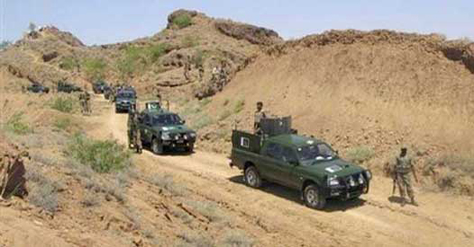 Security forces patrolling North Waziristan - File Photo