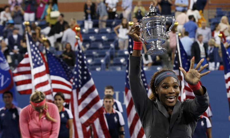 522d4d843367b - Serena beats Azarenka for fifth US Open title 2013