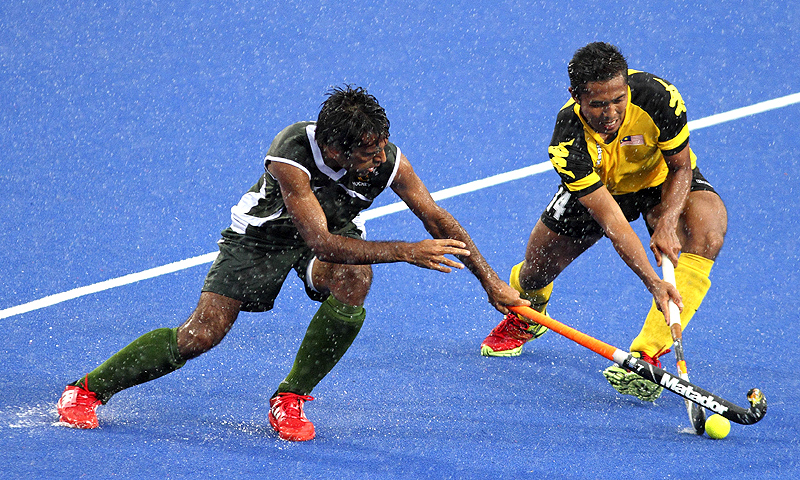 Pakistan, a four-time world champion and three-time Olympic gold medallist, failed to win the Asia Cup earlier this month, a victory they needed in order to qualify for next year's World Cup in the Netherlands. -Photo by AP