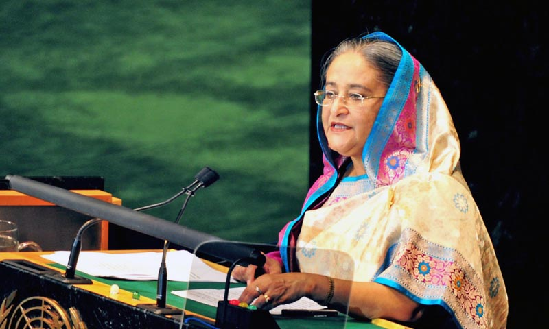 Bangladesh Prime Minister Sheikh Hasina. — File Photo